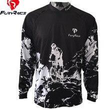 FURY RACE 2017 MX Enduro Downhill Jerseys Mountain Bike Racing Clothing DH MTB Shirt Black Long Jersey BMX Motocross T Shirt Men