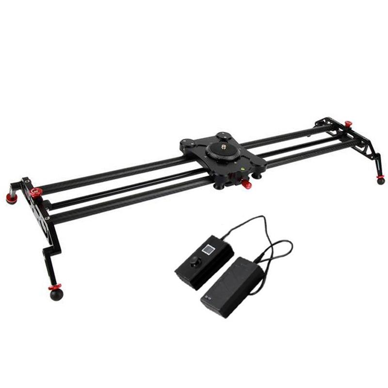 Dslr video 80cm 32 carbon fiber motorized slider camera for Motorized camera slider timelapse