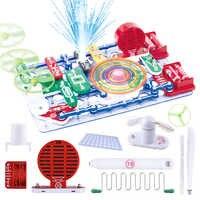 Circuitos Snap juguetes STEM para niños aprendizaje educativo integrado bloques de construcción circuito ciencia física experimento