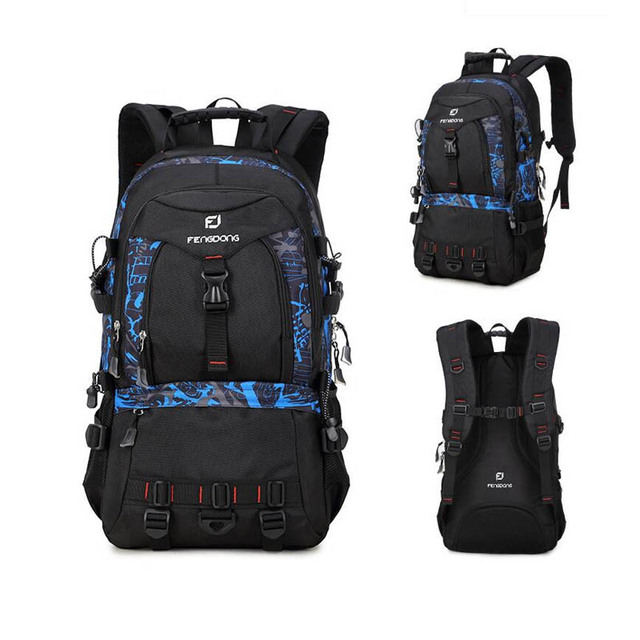 1d0f8c354f78 FengDong large sizes men travel backpack 40l 35l 30l male big travel bag  for laptop notebook college computer backpack boy bag