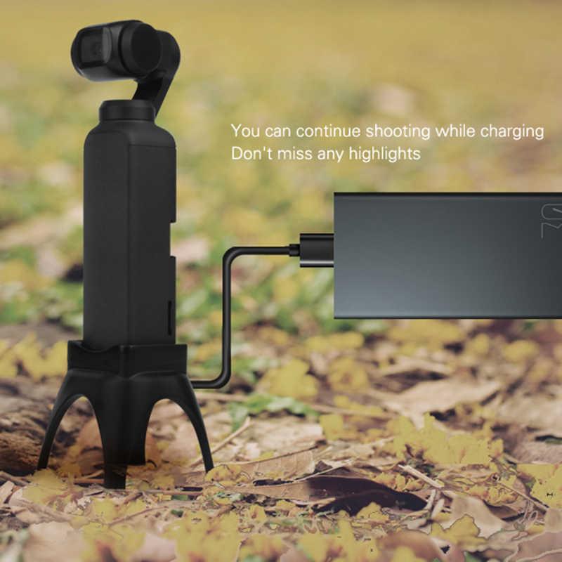 מוגבר בסיס הר Stand עבור DJI אוסמו כיס כף יד Gimbal מצלמות ראש חצובות לdji אוסמו כיס כף יד Gimbal
