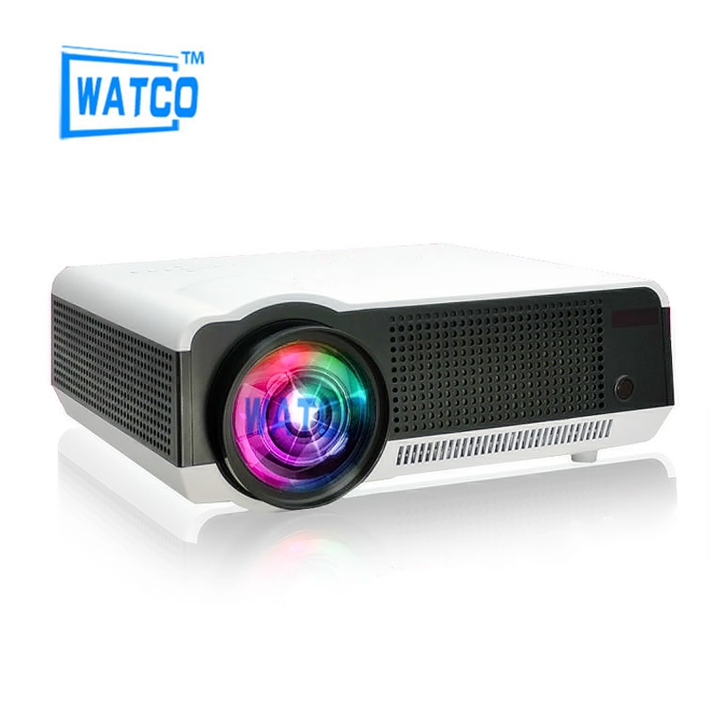 1080P Brightest 5500lumens Android 4 4 Native Full HD Led Digital 3D Home Theater font b