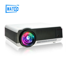 "1080P Brightest 5500lumens Android 4.4 Native Full HD Led Digital 3D Home Theater Projector Free Gift 100"" Screen"