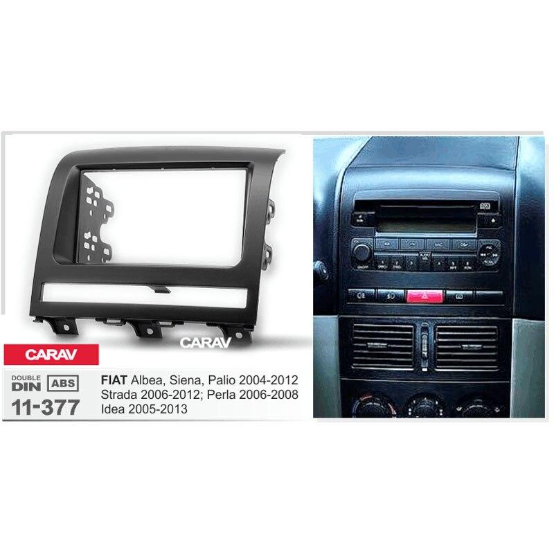 2 Din Radio Fascia for Mazda 2 Dimeo 2007 Stereo Panel Dash Installation Frame