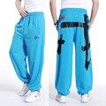 Бесплатная доставка плюс размер XL-5XL весна мужские хип-хоп брюки брюки хлопок печати эластичный пояс осень extra large мужские 16 цвета
