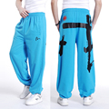 Free shipping plus size XL-5XL spring mens hiphop pants trousers cotton print elastic waist autumn extra large men's 16 colors