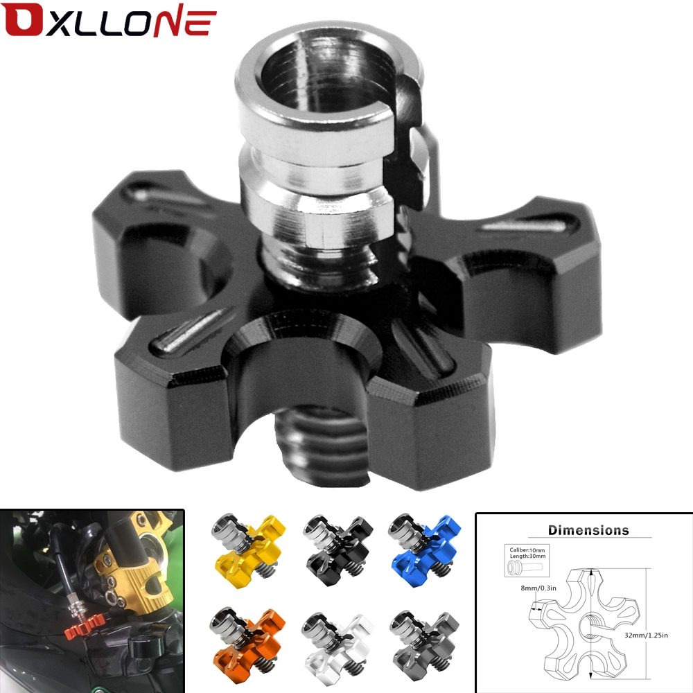 For BMW S1000XR R1200RS S1000R C EVOLUTION C650GT Universal Motorcycle CNC Aluminum brakes Clutch Cable Wire Adjuster