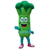 Bruce Broccoli Mascot Costume Custom Fancy Costume Anime Cosplay Kits Mascotte Fancy Dress Carnival Costume
