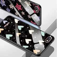 Quality Glass Back For Xiaomi Redmi 5A 6A 7A Soft Case Cover For Redmi 6 5 5 Plus Note 7 Pretty Flower Tempered Glass Phone Bags luxury phone case for xiaomi redmi 7a tempered glass phone cover for redmi 7 6 6a xiaomi 9 9t for redmi note 8 8pro back cover