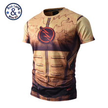 T shirt Summer O neck Short Sleeve 3D Print T-shirt Men's Fitness Clothing Camisetas Tops M-3XL