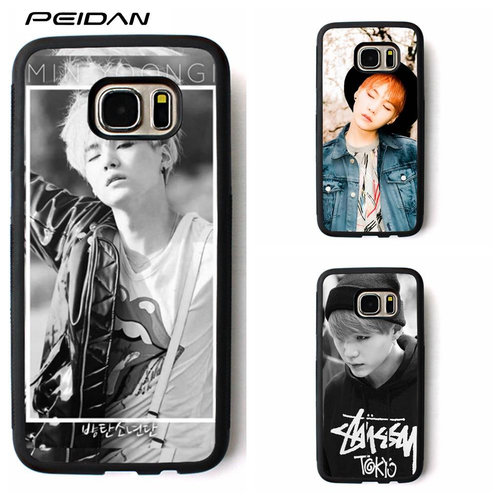 Peidan Bts Bangtan Boys Suga Cover Phone Case For Samsung Galaxy