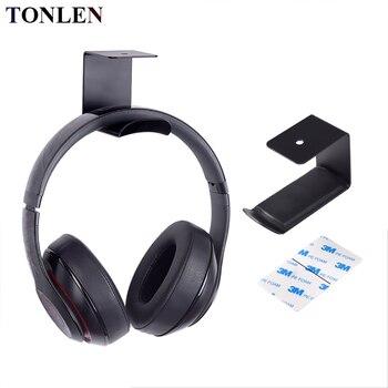 Headphone Stand Metal Hook Suspension Earphone Bracket Headset Desk Display Shelf Rack Headphone Holder Stand Hanger