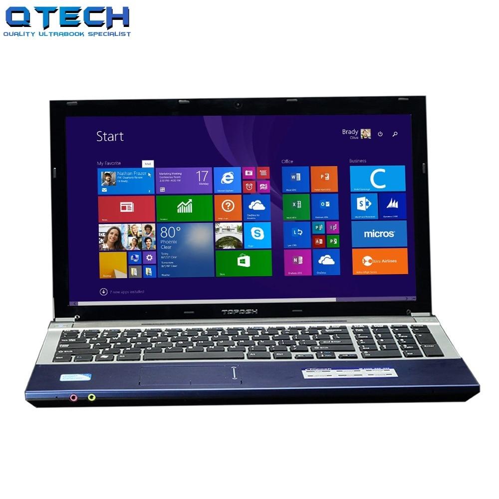 i7 Gaming Laptop 120GB SDD + 750GB HDD + 8GB RAM 15.6