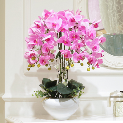 Artificial Flower Flowers Vase Orchid Home Furnishing Jewelry