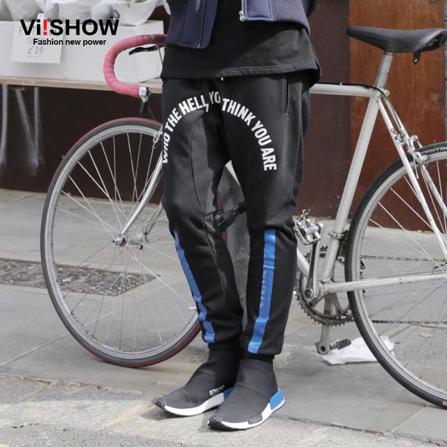 VIISHOW Homens Calças Hip Hop Calças Roupas Masculinas Calça Casual Sweatpants para Homens KC43563 Dano