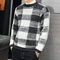 2016 new Spring solid Casual Men Sweater male Brands Sweater Winter Men's O-Neck Cotton Sweater Jumpers Pullover Sweater Men