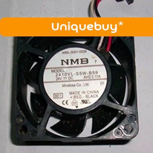 24V A90L-0001-0581 2410VL-S5W-B59 for NMB Fanuc original plug waterproof fan the new fanuc fanuc a90l 0001 0443 r a90l 0001 0443 f spindle fan