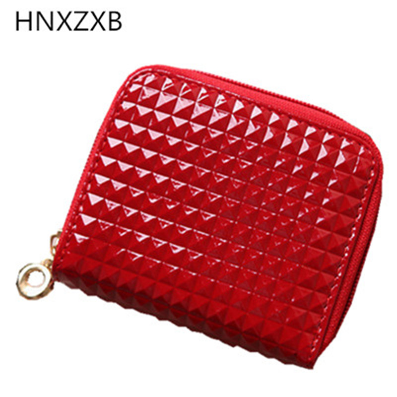 Fashion Leather Small Wallet Female Mini Wallet Women Small Coin Purse Zipper Hasp Short Lady Purses Card Holder Girl Money Bags