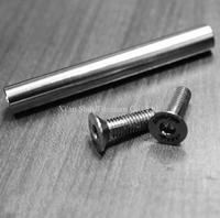 Titanium TC4 Bicycle Rear Fork Pivot Assembly And Bolts 24g Set For Bike Brompton