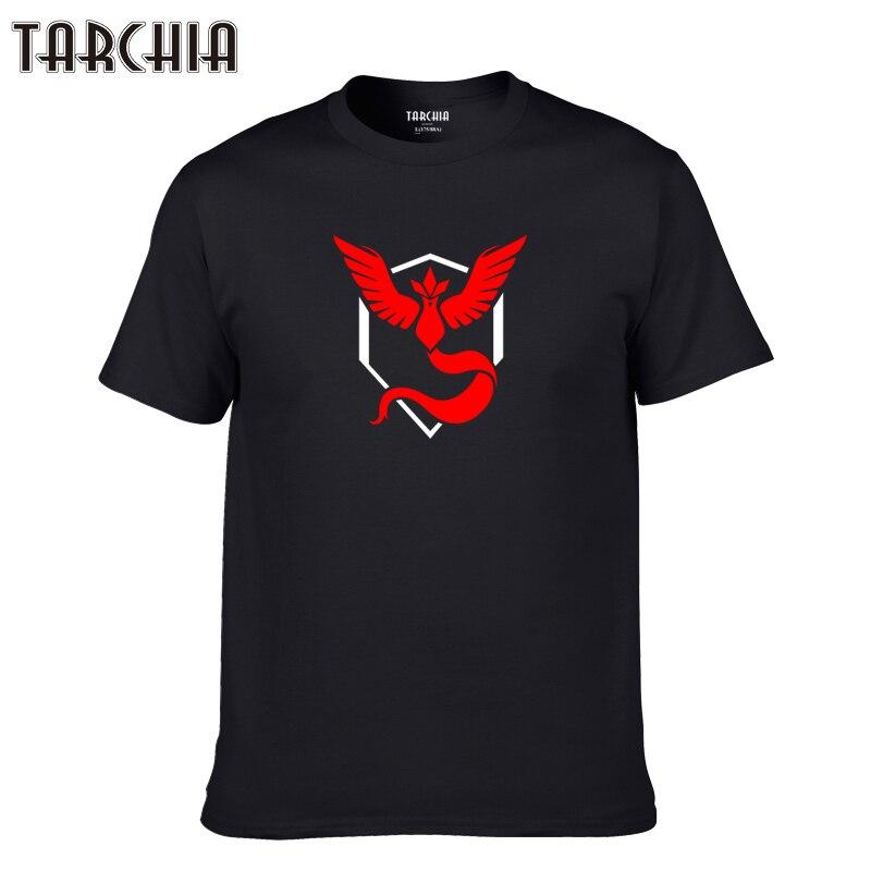TARCHIA 2019 new fashion t-shirt cotton tops tee men brand short sleeve boy casua Pokemon fashion homme tshirt t plus