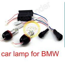 free shipping 2*10W car lamp  for BMW E82/E87 E90 sedan E91 touring E92  CREE Angel Eyes LED Marker