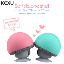 KEXU Mini Wireless Portable Bluetooth Speaker Mini Bluetooth Mushroom Speaker Mini Speaker for Mobile Phone iPhone iPad Tablet