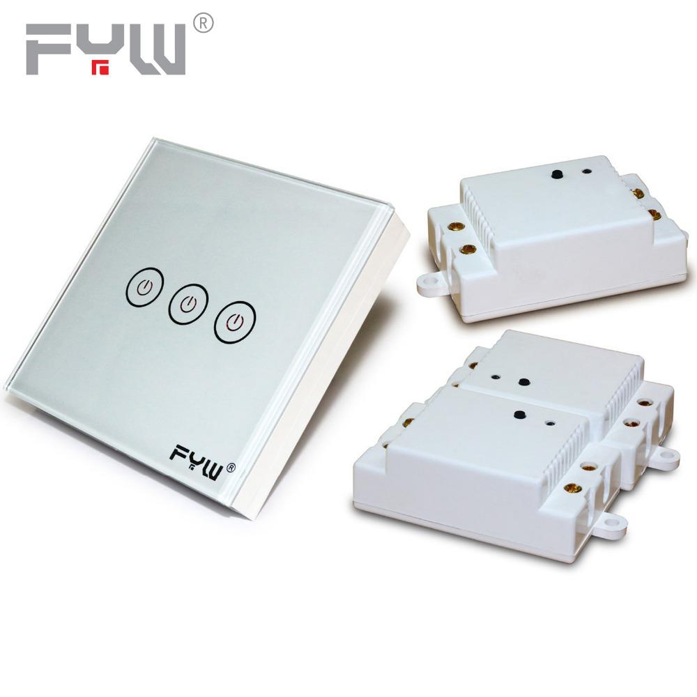 Fyw 3 Gang 3 Way Touch Push Button Light Switch100