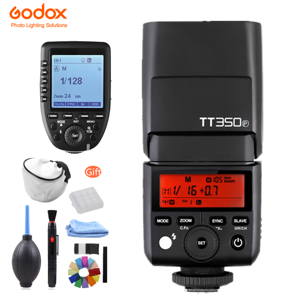Pre-sale! GODOX Mini TT350P TT350 TTL HSS 2.4GHz Wireless Flash XPro-P Trigger for Pentax 645Z K-3II K-1 KP K-50 K-S2 K70 Camera bodykraft k 52