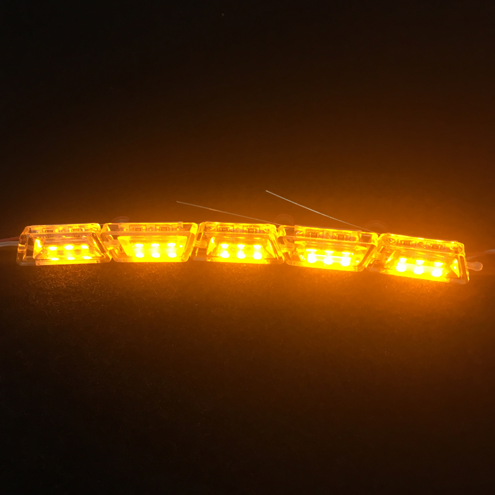 Car Flexible LED DRL Strip Light Crystal Tube 16LED Light Bulbs Daytime Running Light for Audi A6 C6 A3 A7 A5 Q5 Q7 Car styling in Car Light Assembly from Automobiles Motorcycles