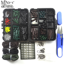 1 Set Assorted Carp Fishing Accent Line Scissors Stopper Hook Swivel Rubber Sleeve Sinker Lock Hair Rig and many others. Terminal Sort out