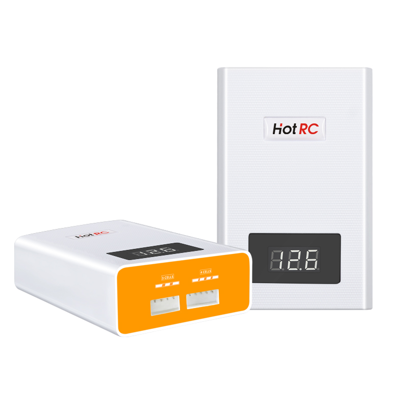 Hotrc A400 Digital <font><b>3S</b></font> 4S <font><b>3000mah</b></font> RC <font><b>Lipo</b></font> <font><b>Battery</b></font> Balance Charger with LED Screen Fast Charge Discharger for RC Helicopters Car image