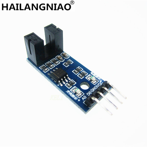 10pcs IR Infrared Slotted Optical Speed Measuring Sensor Optocoupler Module For Motor Test PIC AVR