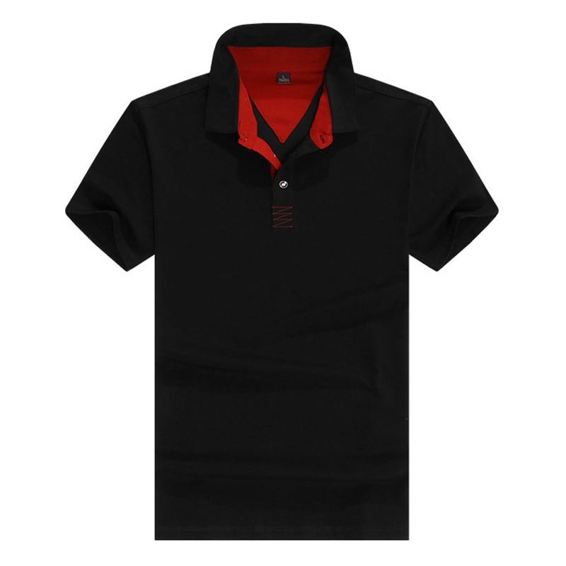 Polo Shirt Men Brand Designer Summer Slim Fit Turn Down Collar Short Sleeve tee shirt For 2019