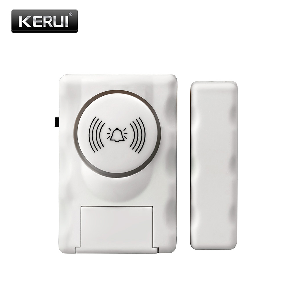 Standalone Door Magnetic Sensors Independent Wireless Home Door Window Entry Burglar Alarm Security Alarm Guardian