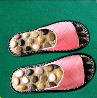 Pebbles Foot Massage Slippers Point Massage Health Care Shoes Foot Massage Foot Care Tools