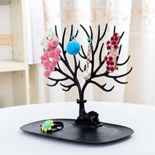 Little Deer Earrings Necklace Ring Pendant Bracelet Jewelry Display Stand Tray Tree Storage Racks Organizer Holder Household(China)