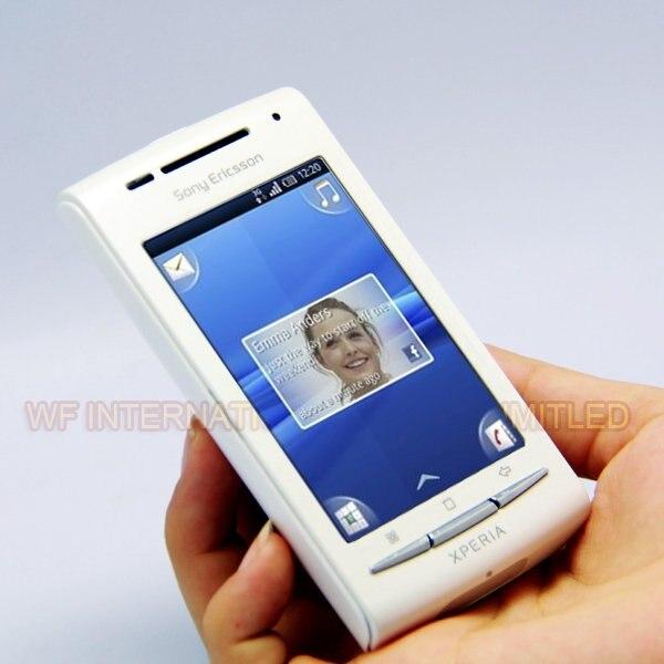 Цена за X8 Оригинал Sony Ericsson Xperia X8 E15i Мобильного Телефона Разблокирована Android Смартфон GPS Wi Fi 3.0 дюймов Сенсорный Экран