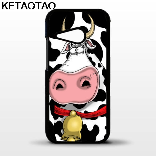 KETAOTAO Cow head funny cartoon face Phone Cases for iPhone 4 5C 5S 6S 7 8 Plus X for Samsung NOTE Case Soft TPU Rubber Silicone