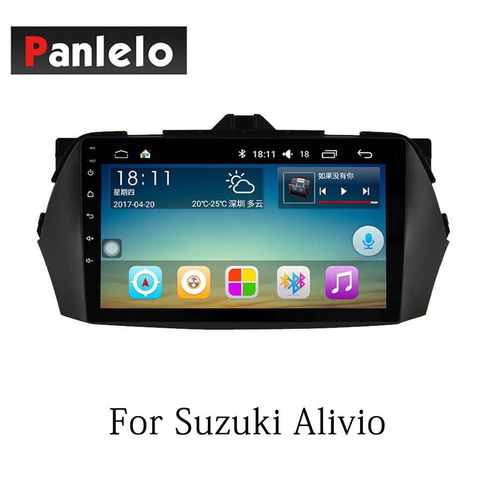Panlelo Auto Stereo Android7.1 Für Suzuki SX4 Alivio Swift Vitara 2 Din Auto Radio AM/FM GPS Navigation BT lenkrad-steuerung