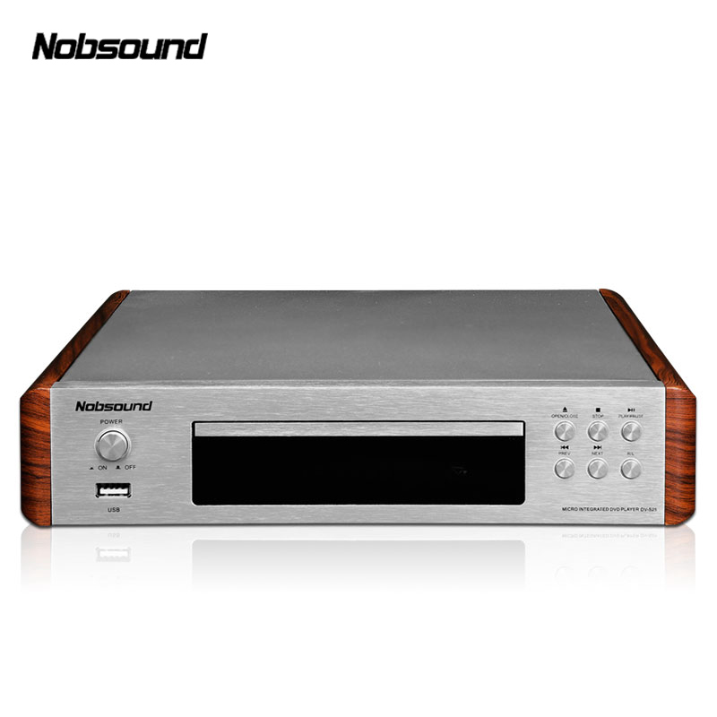 Nobsound DV-525 DVD Player HDMI Household Support Playback format DVD/DVCD/VCD/CD/CD-R/SVCD/MP3/MP4 deko giec bdp g2805 blu ray высокой четкости dvd проигрыватель hdmi dvd проигрыватель cd vcd