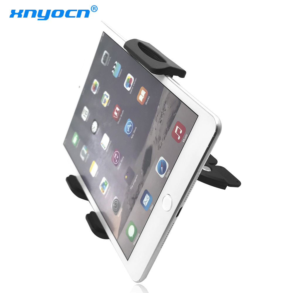 Universal varmt salg 7 tommers 90 ~ 136mm justerbar bilholder CD-spor mobiltelefonmonteringsholder stativ for ipad mini for Tablet PC GPS
