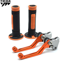 CNC Motorcycle Accessories Brake Clutch Levers Pivot Dirt Bike Hand Grips For KTM 150XC 150 XC 2009 2010 2011 2012 2013