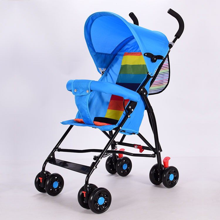 Light summer baby car baby stroller folding portable summer simple trolley bb child umbrella car 4 6kg baby sleeping 180 degree light folding portable ultra light baby car umbrella two way summer child trolley baby stroller