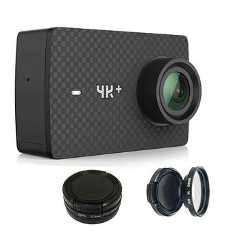 цена на Camera Lens Protector CPL/UV Filter For Xiaomi Yi  Xiaoyi 2 4K xiaomi yi 4K Plus Action Camera Accessories