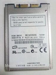 جديد 160GB HDD 1.8 MicroSATA MK1633GSG ل HP 2740p 2730p 2530p 2540p hdd IBM x300 x301 T400S T410S قرص صلب استبدال MK1229GSG