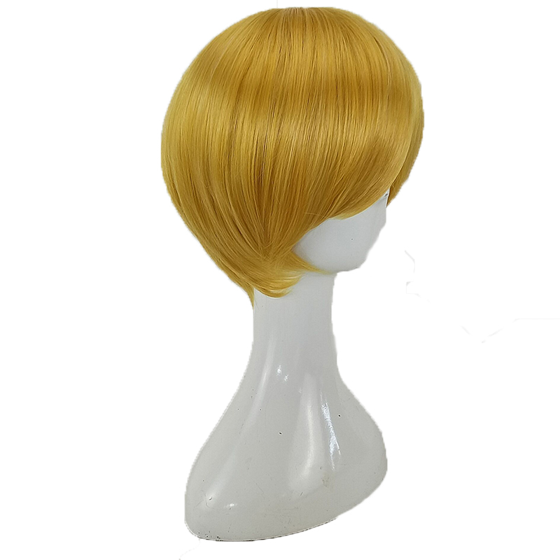 HAIRJOY  Synthetic Hair Tinker Bell Cosplay Wig with Detachable Bun Blonde Brown  Heat Resistant Costume Wigs 49