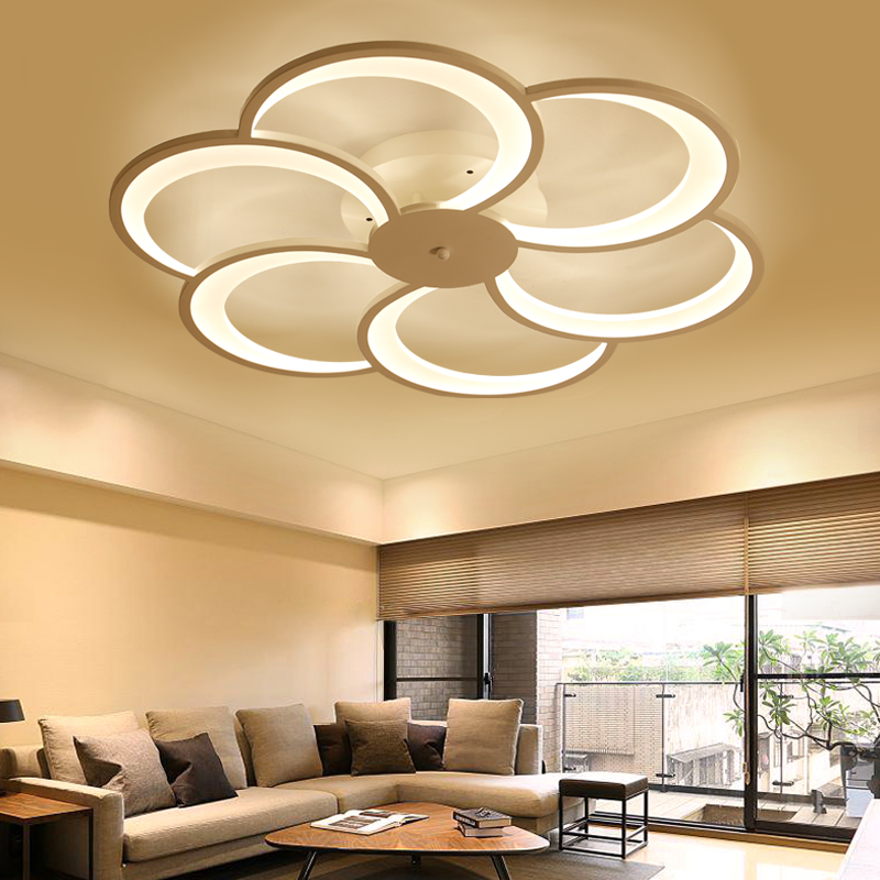 2017 Time-limited Ce Rohs New Modern Art Acrylic Led Ceiling Lights Living Room Bedroom Decorative Lampshade Lamparas De Techo modern led ceiling lights acrylic ultrathin living room ceiling lights bedroom decorative lampshade lamparas de techo