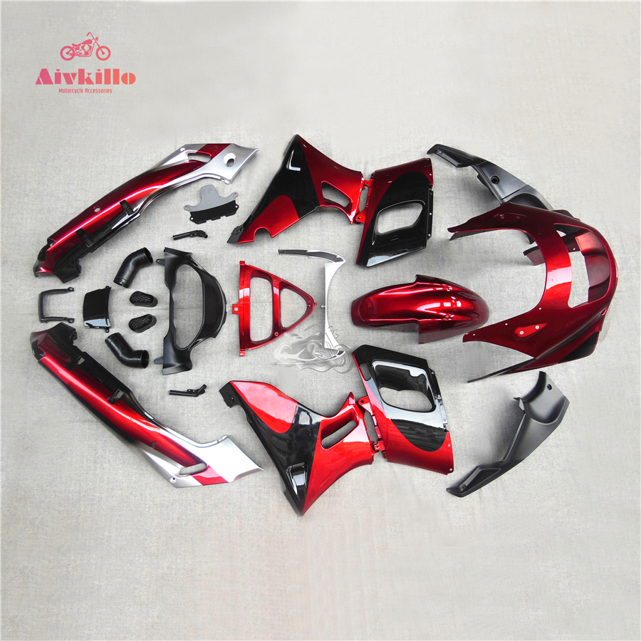 High Quality Bodywork Fairing Kit Set Fit For Kawasaki ZZR400 93-94-95-96-97-98-99-01-02-03-04-05-06-07