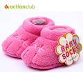 New Soft Coral Fleece Baby Shoes Cotton Baby Girls Boys First Walker Plush Slippers Multicolor Toddler Shoes Newborns Footwear