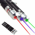 Powerful Green/Red/Blue Violet Laser Pen Laser Pointer Pen Visible Beam Light 5mW Professional High Power Portable